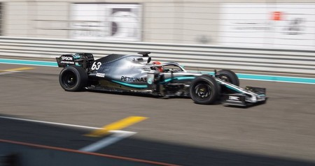 Russell Abu Dabi F1 2021
