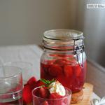 Cómo hacer mermelada de fresas a la menta
