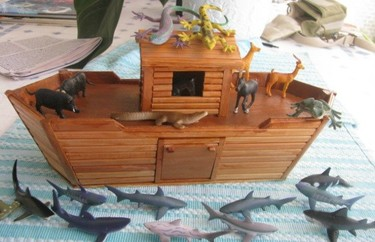Manualidades divertidas: un arca de Noé