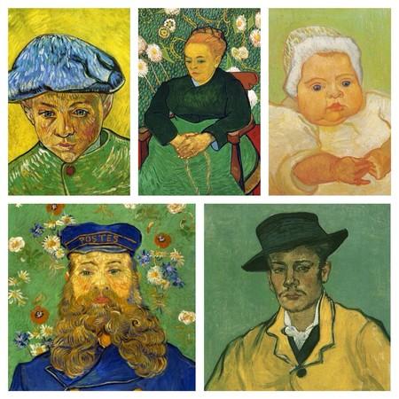 La Familia Roulin Pintada Porn Van Gogh