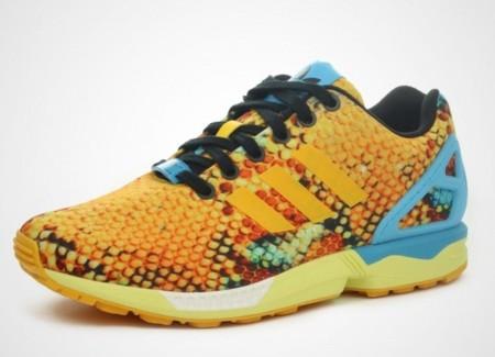 Adidas Originals ZX Flux, escamas doradas