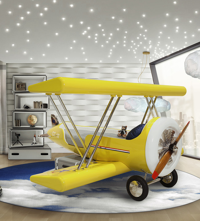Sky B Plane Bed Ambiance Circu Magical Furniture 02