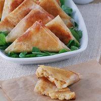 Samosas de risotto picantes a la plancha: receta de aprovechamiento para el aperitivo