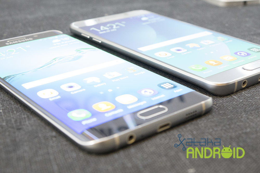 Samsung Galaxy Note 5 y Galaxy S6 edge+
