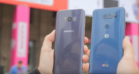 Galaxy S8 Y Lg V30 Sensor De Huellas