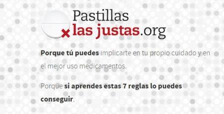 Pastillas las justas: Campaña contra la excesiva medicalización