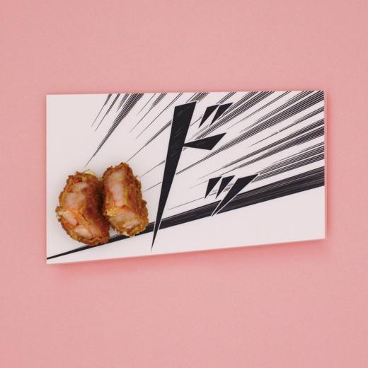 Foto de Vajilla decorada con dibujos manga para servir tu comida japonesa (1/10)