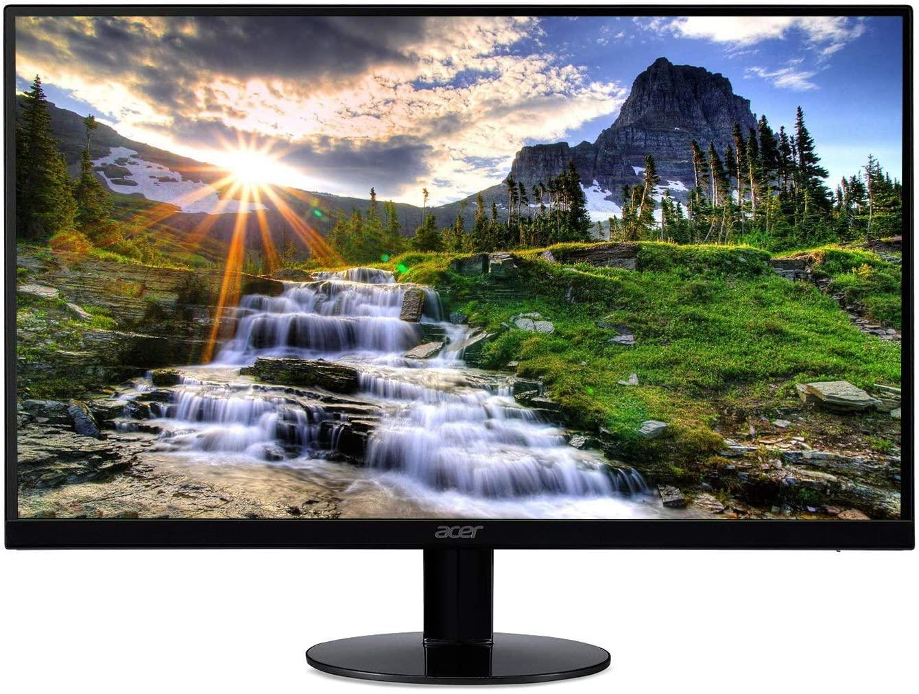 Monitor Acer SB220Q Series con tecnología AMD Radeon Freesync - Puertos HDMI y VGA, FHD, 75Hz