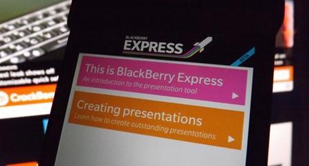 BlackBerry Express, una aplicación para crear presentaciones profesionaes de manera rápida