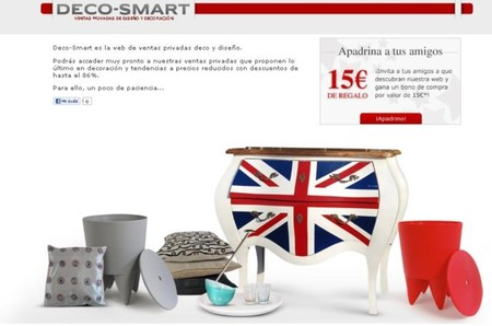 Deco-Smart, ventas privadas de decoración