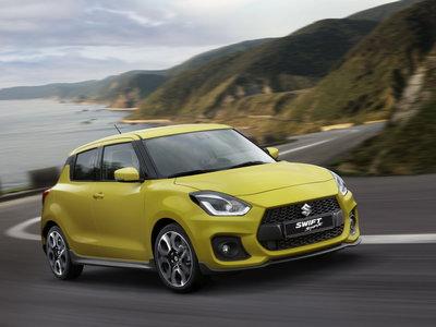 Con 138 hp y sólo 970 kg, el nuevo Suzuki Swift Sport es un genuino hot-hatch