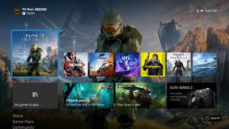 Interfaz Xbox