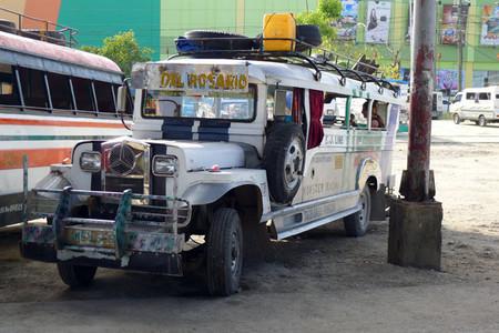Jeepney, vehículo típico de Filipinas