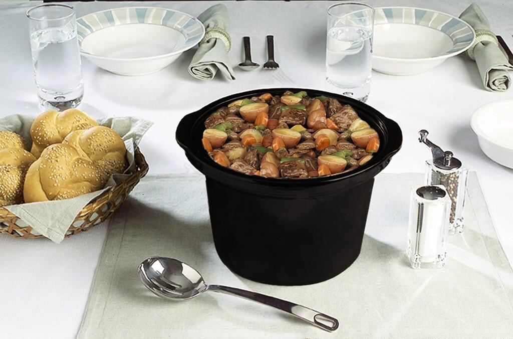 Ideal para parejas, la olla de cocción lenta Crock-Pot SCCPQK5025B de 2,4 litros baja su precio a 36,68 euros en Amazon