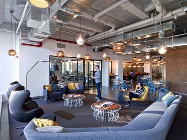Descubre las oficinas de Condé Naste Entertainment con estilo rústico-industrial
