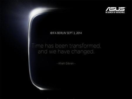 ASUS presentará su smartwatch basado en Android Wear el próximo 3 de septiembre