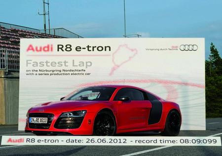 Audi R8 Etron Nurburgring