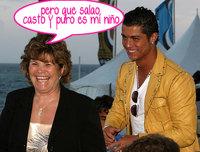Cristiano Ronaldo no es un mujeriego... según su madre