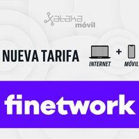 Finetwork aumenta hasta 10 GB gratis varias de sus tarifas móviles y combinados con fibra
