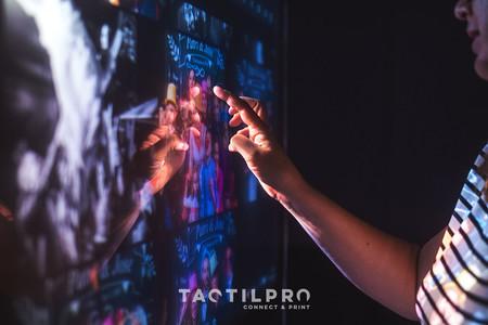 'TactilPro', un innovador proyecto que ofrece una experiencia fotográfica interactiva en eventos sociales