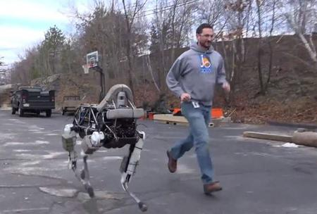 Spot el nuevo robot de Boston Dynamics