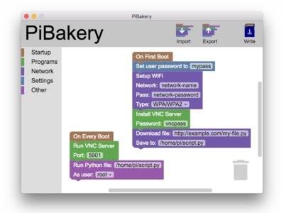 PiBakery te permite configurar una Raspberry Pi en tu ordenador