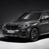BMW X7 Dark Shadow Edition, versión  limitada sólo a 500 unidades en el mundo