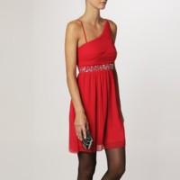 Vestido rojo de Even & Odd