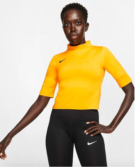Nike Air - camiseta de running de manga corta de mujer