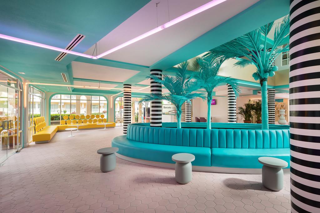 Hotel Allegro Isora, creatividad y colorismo elevado a la máxima potencia