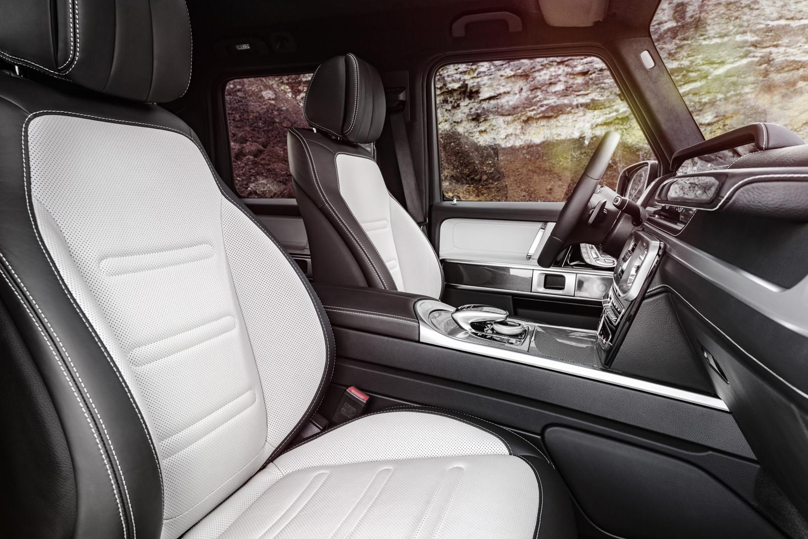 Foto de Mercedes-Benz Clase G 2019 (interior) (7/8)