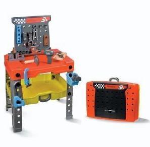 Superarea Mecaninc F1, un banco de trabajo de juguete