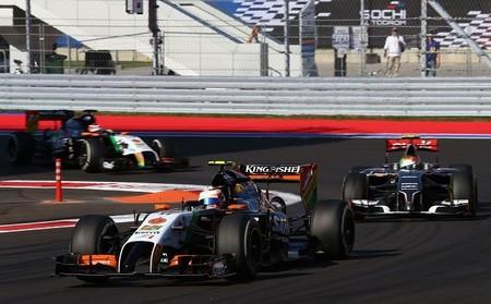 Force India también estuvo a punto de perderse el Gran Premio de Estados Unidos