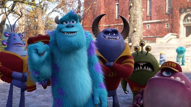 El lado oscuro de Sulley en 'Monstruos University'