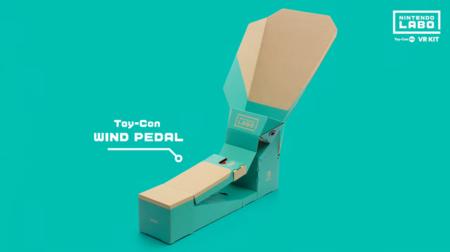 Nintendo Labo VR Kit Pedal