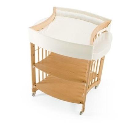 Muebles evolutivos para que la habitación del bebé crezca con él. Cambiadores y otros complementos