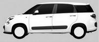 ¿Siete plazas para el Fiat 500L? Pues eso parece...