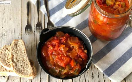 La receta de pisto manchego más fácil y más rica cocinada en olla de cocción lenta o CrockPot