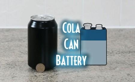 [Vídeo] Electricidad con lata de refresco