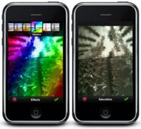 La aplicación Photoshop.com para iPhone, gratuita y en funcionamiento