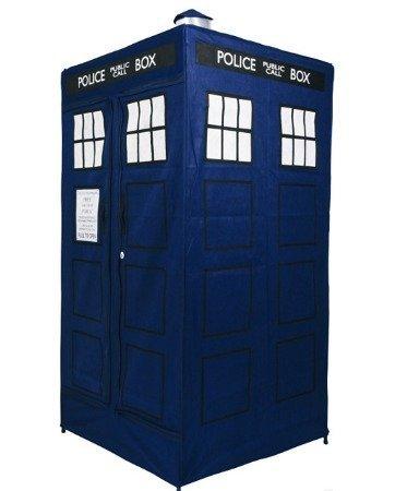 El armario del Doctor Who, para viajar en el tiempo o guardar tu ropa