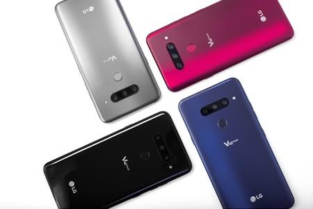 LG V40 ThinQ: cinco cámaras, sonido de alta fidelidad y pantalla OLED para el que busca ser el smartphone multimedia definitivo