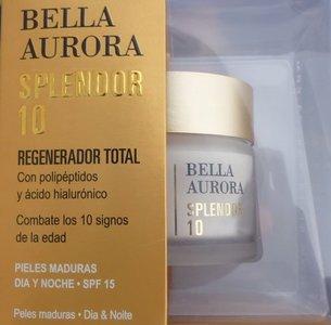 Probamos Splendor 10 de Bella Aurora, tratamiento facial pieles maduras. Los resultados