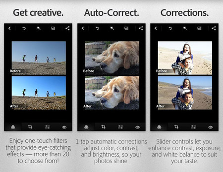 Adobe Photoshop Express 2.0 para Android