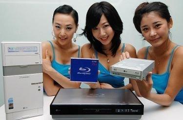LG a por el mercado del Blu-ray