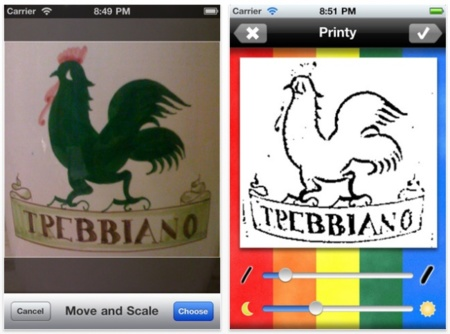 Printy, crea dibujos para colorear por los más pequeños