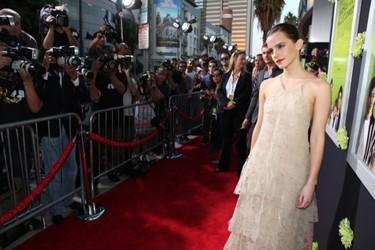 ¿Emma Watson? Pues muy guapa, como siempre ¿Y Nina Dobrev?... Nina Dobrev muy simpática