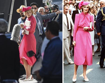 Lady Di Emma Corrin En The Crown Copia