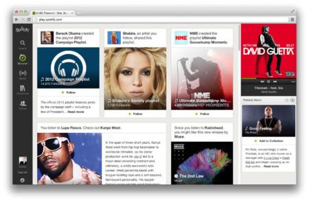 """Spotify comienza a desplegar su pestaña """"Discovery"""""""