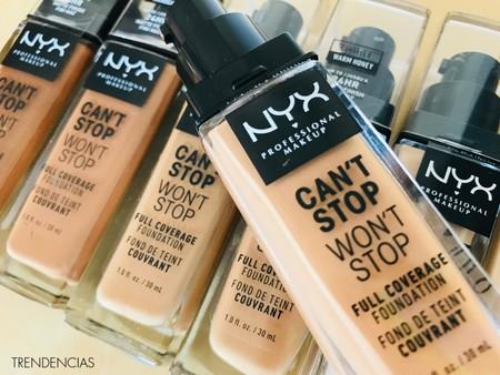 Probamos la nueva base de NYX para este otoño: ideal para pieles con tendencia a los brillos